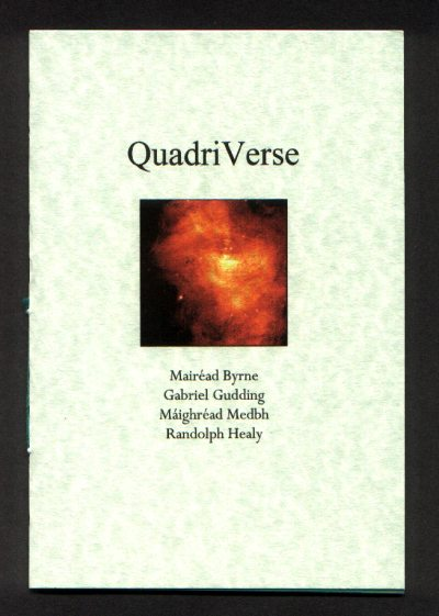 Cover of Quadriverse by Mairead Byrne, Gabriel Gudding, Maighread Medbh and Randolph Healy