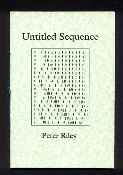 Cover of Untitled Sequence by Peter Riley