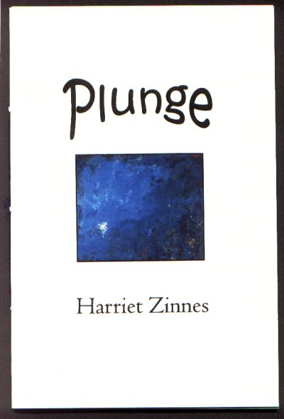 Cover of Plunge by Harriet Zinnes